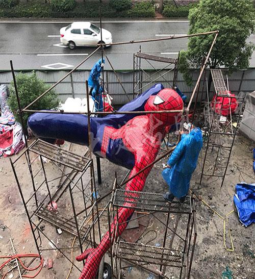 蜘蛛侠安装现场