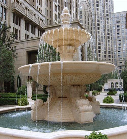 石雕喷泉景观雕塑