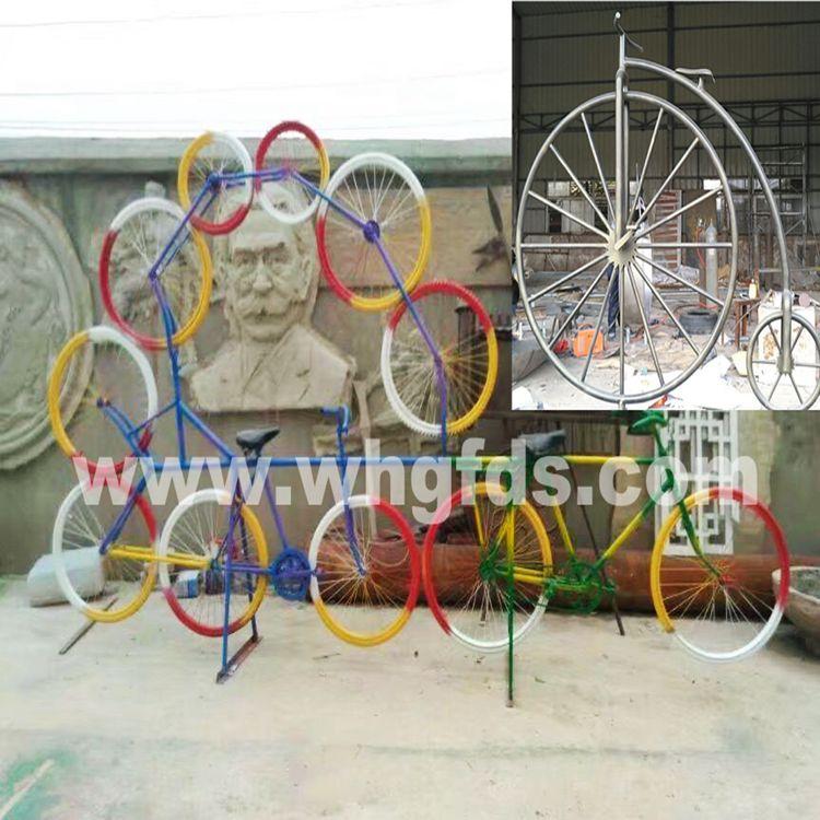 不锈钢锻造自行车