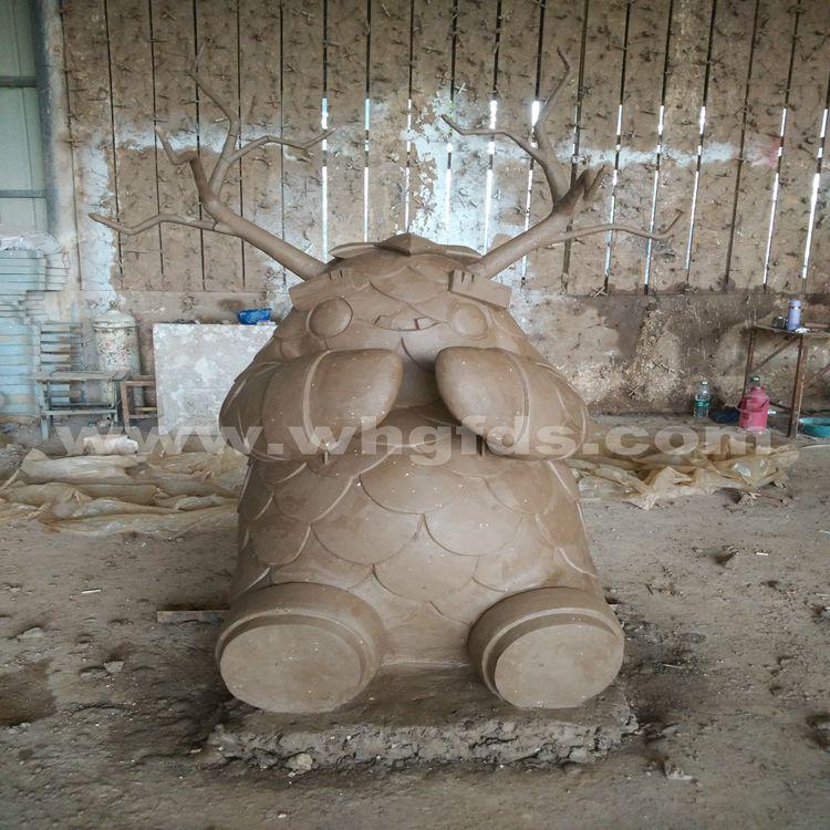 龙宝雕塑泥塑